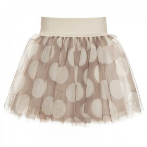gonne in tulle per bambine-maxi-pois