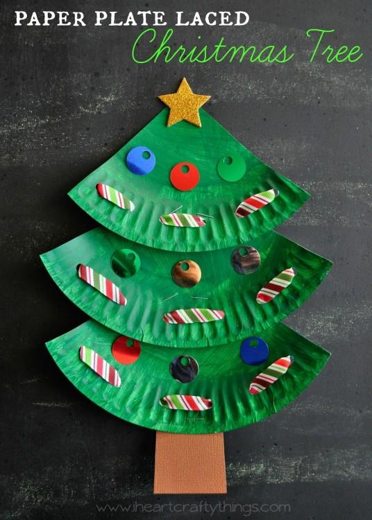 Lavoretti Di Natale Facili Con La Carta.Lavoretti Di Natale Facili E Bellissimi