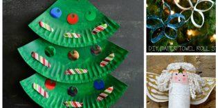 Lavoretti di Natale facili e bellissimi per bambini