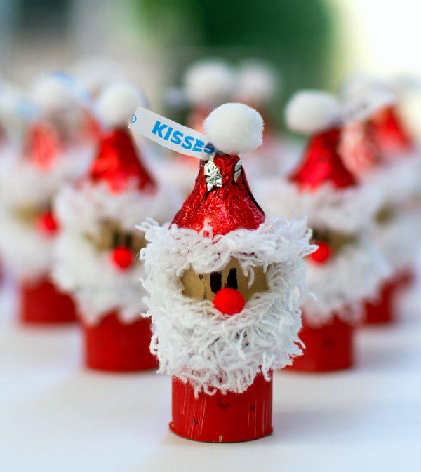 Lavoretti di Natale con tappi di sughero
