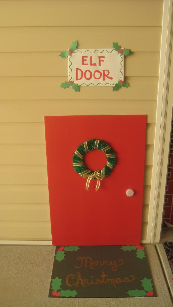 Come fare la casetta degli elfi di Babbo Natale cartoncino