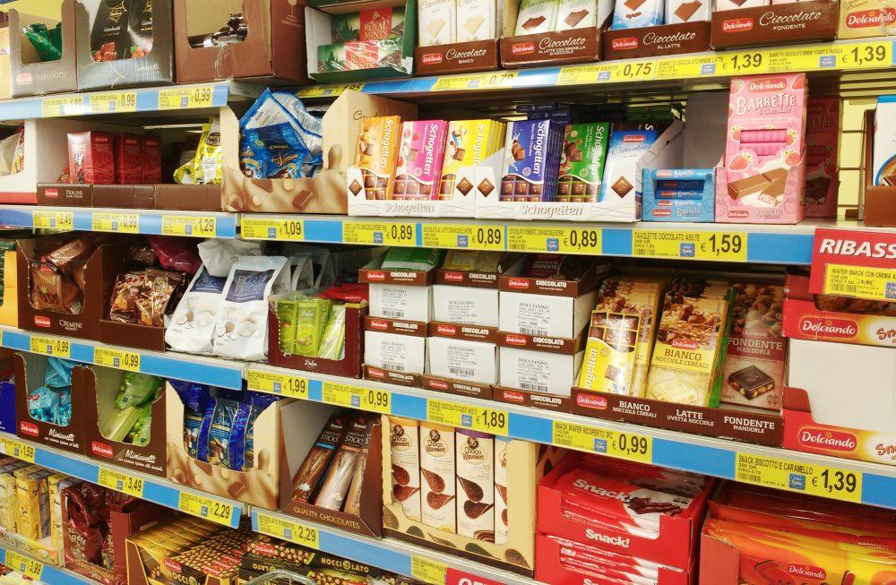 Spesa al discount-si-o-no_cioccolati