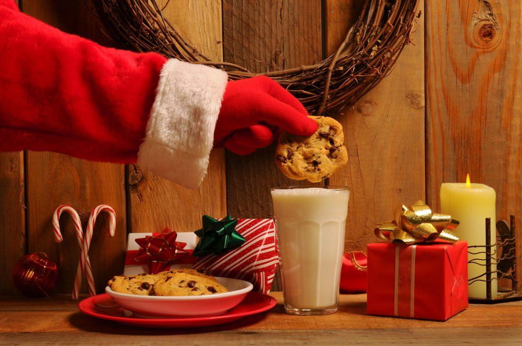 Come preparare lo spuntino di mezzanotte per Babbo Natale