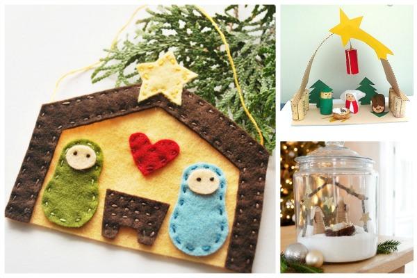 Préférence Mini presepe fai da te da fare con i bambini per Natale : Blogmamma.it OA41