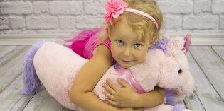 Costume di carnevale da unicorno fai da te per bambini