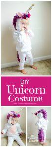 Costume di carnevale da unicorno fai da te per bambini_senza ago e filo con lana
