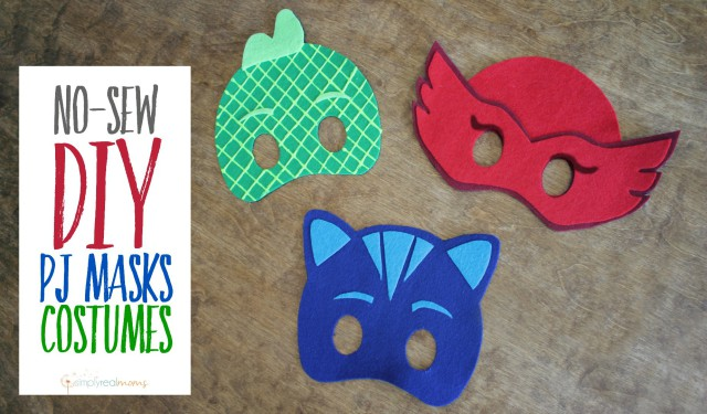 Costumi di carnevale dei pj masks fai da te - Pagina colorazione maschera gatto ...
