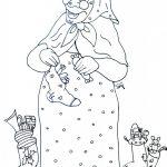 Disegni della Befana da colorare_befana-con-calze