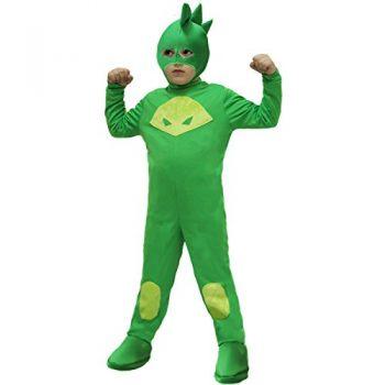 Vestito di carnevale di Geco dei PJ Masks da comprare online_amazon