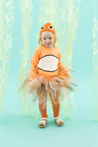 costume da Nemo fai da te per Carnevale