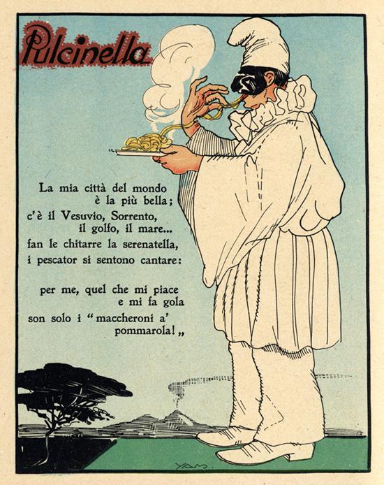 maschere di carnevale italiane pulcinella