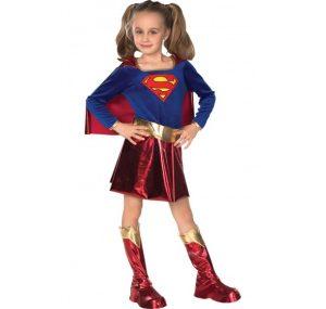 Costumi di carnevale da supereroi per bambine_Supergirl