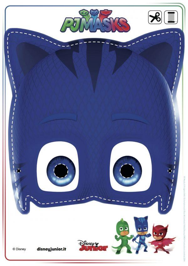 DEcorazioni PJ Masks fai da te_maschera Gatto Boy