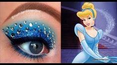 Trucco principesse Disney per bambine_Cenerentola