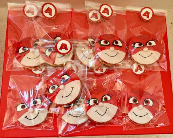 biscotti dei PJ Masks con la pasta di zucchero_Gufetta