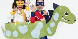 Come fare un costume da dinosauro per Carnevale Halloween e altre feste