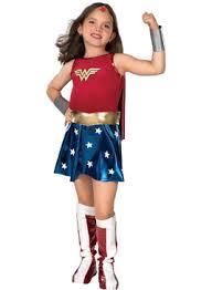 costumi di carnevale dei supereroi per bambine_wonderwoman
