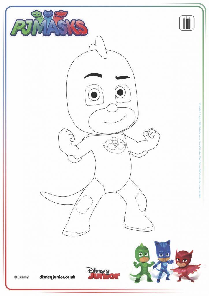 disegni da colorare dei PJ Masks_Geco
