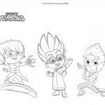 disegni da colorare dei PJ Masks_Lunetta-Romeo-Ninja