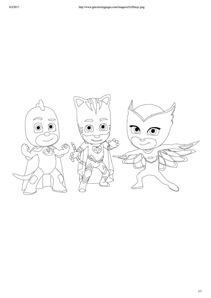 Disegni dei pj masks da colorare superpigiamini for Pjmask da colorare