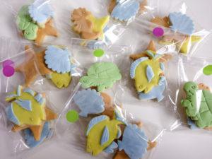 biscotti decorati per compleanno tema mare