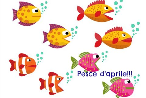pesce d'aprile immagini