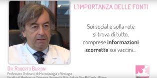 Vaccini e social network: intervista al Dr. Burioni [VIDEO]