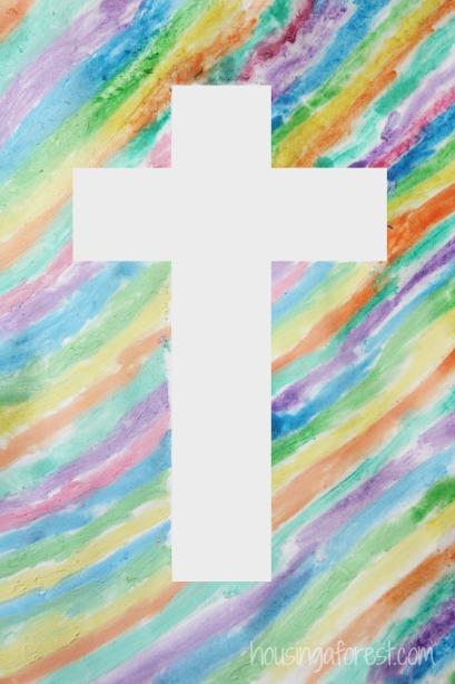 biglietti di Pasqua religiosi per bambini di catechismo