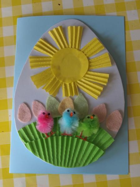 abbastanza Biglietti di Pasqua fai da te facili e originali per i bambini  RS63