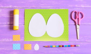 Biglietti di Pasqua fai da te per bambini