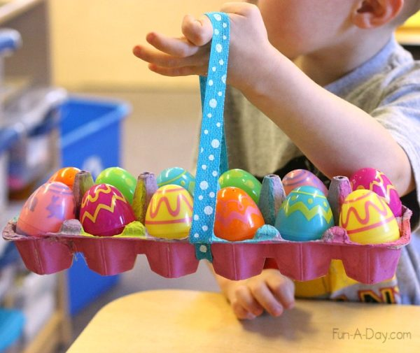 spesso Lavoretti di Pasqua facili con materiale riciclato ideali per  IL37