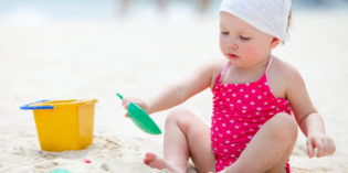 Kit mare per bambini piccoli: cosa portare?