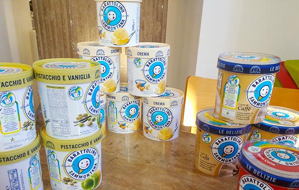 Barattolini gelato Sammontana _ Sammontana progetto scuola missione green