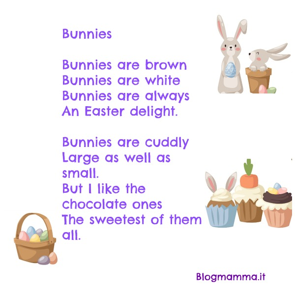Popolare Poesie-filastrocche-pasqua-inglese-bambini-scuola-primaria  MP22