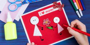 Biglietti per la festa della mamma per scuola dell'infanzia e primaria