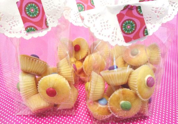 mini muffin al limone e smarties per bambini_ 5 dolci facili per compleanno bambini