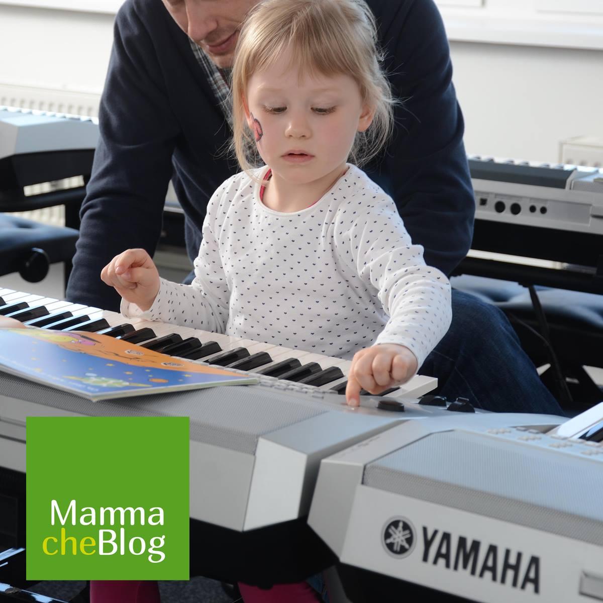 Bambina MammacheBlog Yamaha