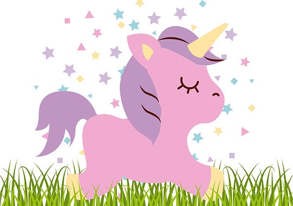 illustrazione unicorno_ come fare il latte di unicorno per feste di compleanno