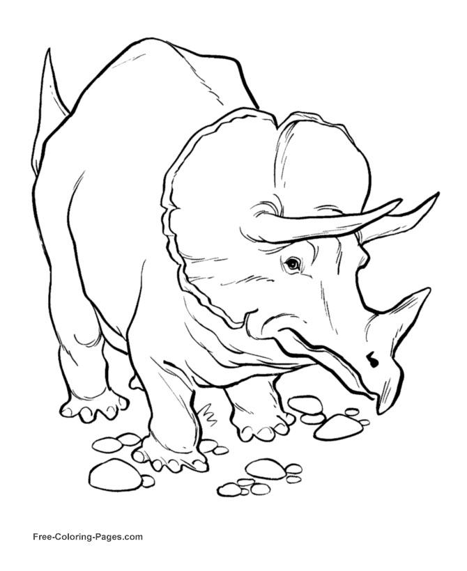 Disegni Da Colorare Dei Dinosauri