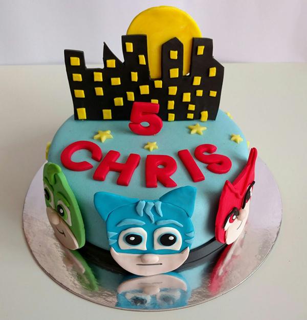 Famoso Torta di compleanno per bambini maschi_Pj Masks - Blogmamma.it  DD14