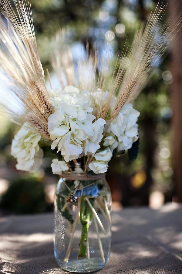 addobbi prima comunione fiori e spighe