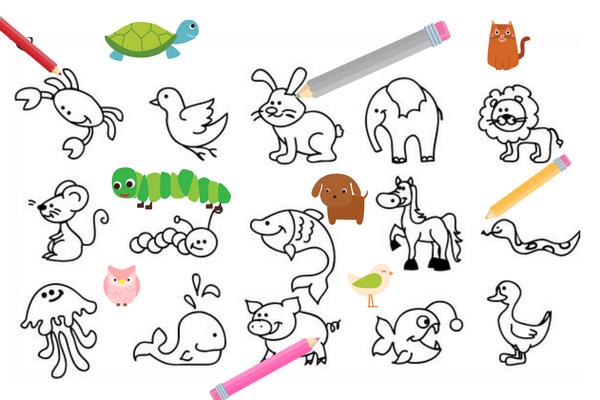 disegni di animali da stampare: