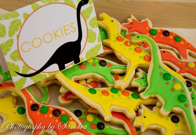 Biscottini decorati per bambini