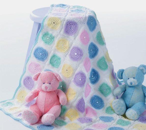 copertine a uncinetto per neonato piastrelle