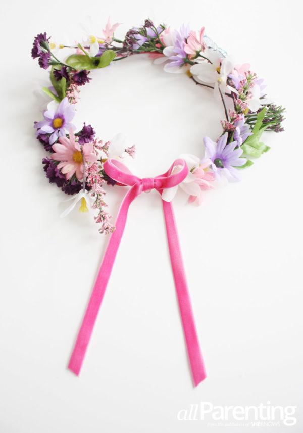 coroncina di fiori per prima comunione e matrimonio