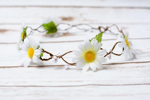 coroncina di fiori per prima comunione