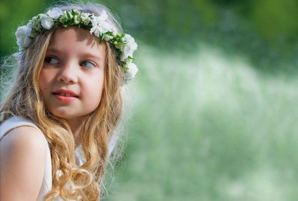 Favoloso Coroncine di fiori per Prima Comunione e damigelle matrimonio  OZ63