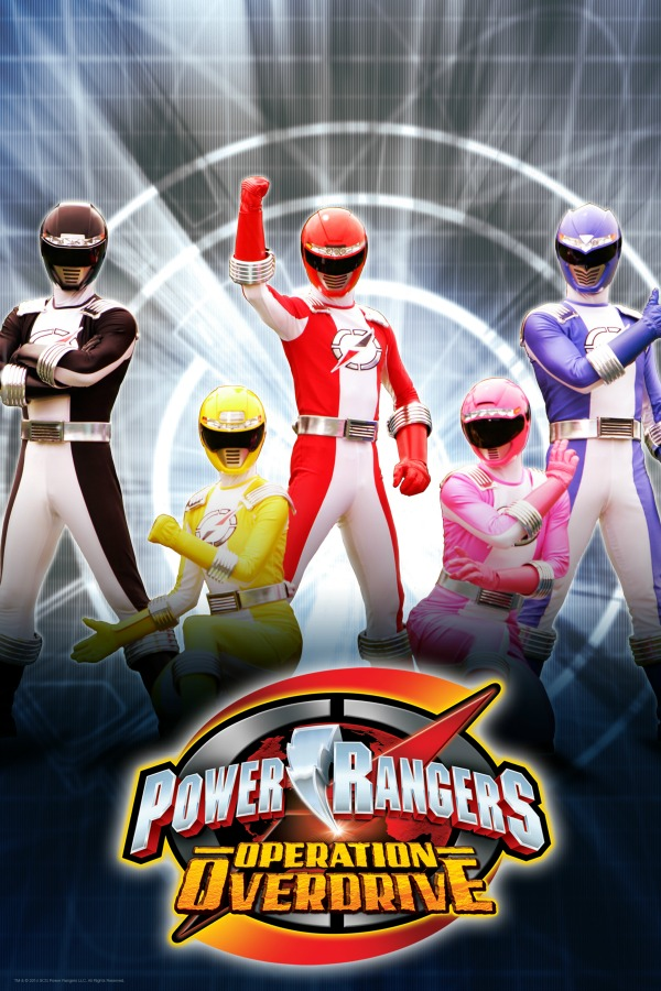 POp canale 45 power rangers