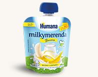 Milkymerenda humana banana_ merenda bambini piccoli