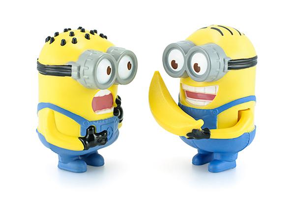Torte dei Minions personaggi con banana